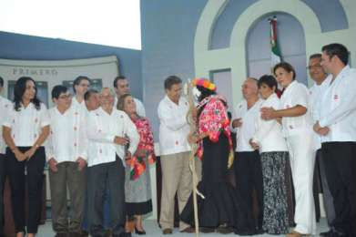 Encabeza Toranzo sesión solemne del Congreso en Tamazunchale