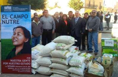 Gestionarán que el Banco de Alimentos de SLP reciba donaciones