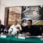 Presentan programa de actividades por el 120 aniversario del teatro de la Paz