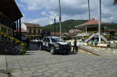 En San Martín Chalchicuautla, reunión de seguridad del Grupo de Coordinación San Luis