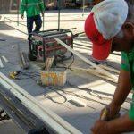 Rehabilitan espacios públicos en comunidades de Bocas