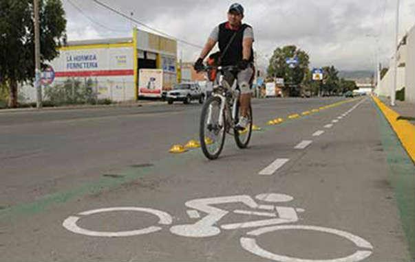 Proyectan construir otra ciclopista en Villa de Pozos