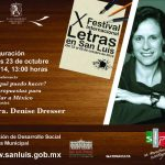 Apertura del X Festival Internacional de Letras