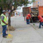 Concreta ayuntamiento trabajos de limpieza en zonas concurridas