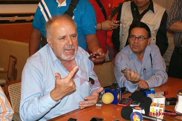 Dice Martín Toranzo que él no convocó a rueda de prensa