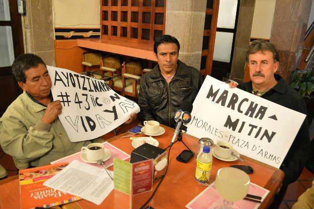 MPL y comerciantes de El Rebote se unirán a manifestación por Ayotzinapa