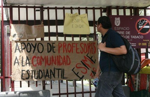 Deciden estudiantes del IPN continuar paro indefinido