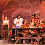 Develan placa conmemorativa por los 120 años del Teatro de la Paz
