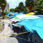 Locatarios del mercado Hidalgo interponen queja ante la CEDH