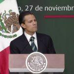 """Mensaje de Peña Nieto: """"Por un México en paz y con justicia"""""""