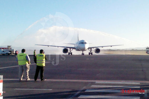 Desconoce Sedeco situación de la concesión del aeropuerto potosino