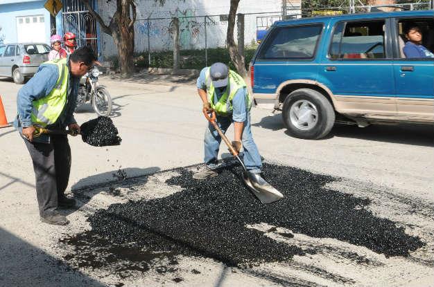 Obras públicas rehabilita la avenida prolongación Moctezuma