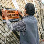 Vídeo: Inconformes clausuran construcción de comandancia en la zona centro