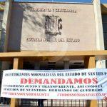 Avala la Normal del Estado movimientos pro Ayotzinapa