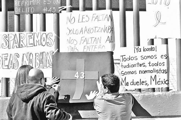 Actos de apoyo en cuatro entidades en demanda de justicia para estudiantes