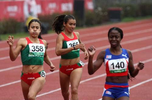 México hace el 1-2 en bala y el 2-3 en los 800 metros de atletismo