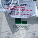 Paro de Labores en Liconsa