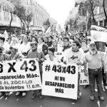 La justicia, otra desaparecida: integrantes de la marcha 43×43