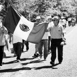 Parte de Iguala hacia el DF marcha convocada por 43 organizaciones