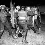 Los 11 detenidos en el Zócalo denuncian ante la CNDH que fueron golpeados