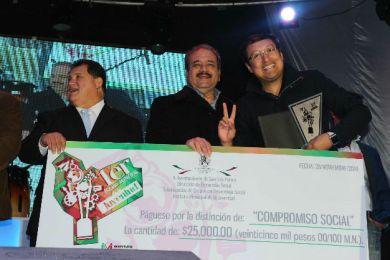 Por primera ocasión entregan el Premio Municipal de la Juventud