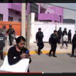 """""""¿Quieren tener problemas? Los van a encontrar, les advierto"""": un """"civil"""" a estudiantes en protesta vs EPN en Pachuca"""