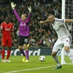 Real Madrid supera 1-0 a Liverpool y avanza a octavos