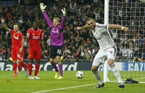 Real Madrid supera 1-0 a Liverpool y avanza a octavos
