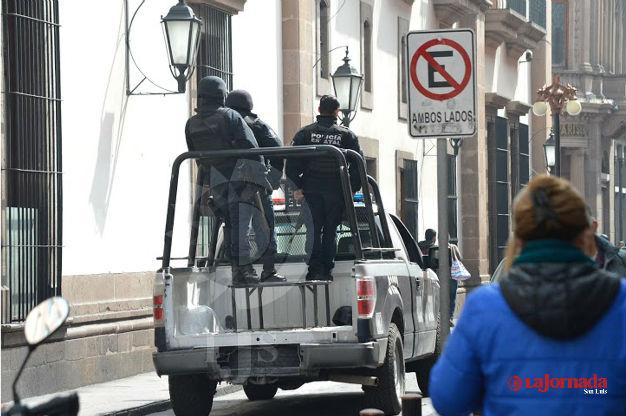 Detenido por robar artículos de una papelería en la Zona Universitaria