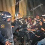 Testimonio de la provocación y la represión 1DicMX2014