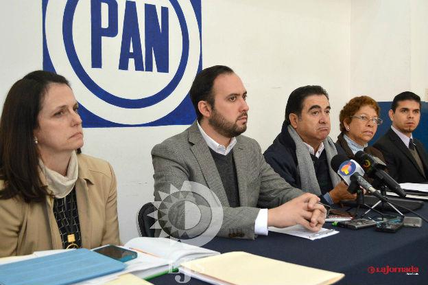 El PAN municipal entra a la  controversia por comandancia