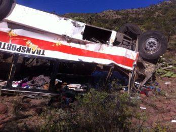 Desconoce la SCT a quién compete el accidente en Santa María del Río