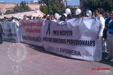 El Colegio de Enfermeras no participará en la marcha de hoy
