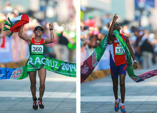 La mexicana Margarita Hernández gana el maratón con récord centroamericano