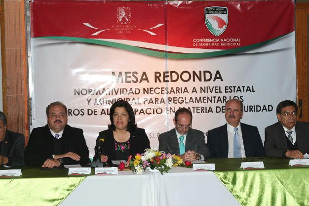 SLP será laboratorio de la Conferencia Nacional de Seguridad Municipal
