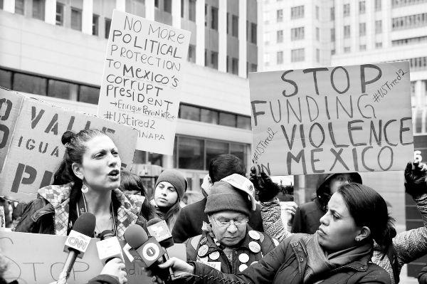 En más de 50 ciudades estadunidenses, solidaridad con Ayotzinapa