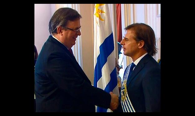 Así se vivió la transmisión del mando presidencial en Uruguay